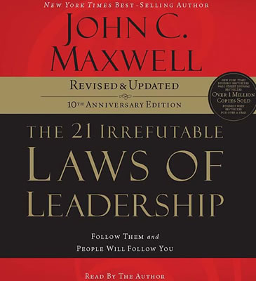 21-Irrefutable-Laws-of-Leadership-John-Maxwell-abridged-compact-discs-Thomas-Nelson-Audio
